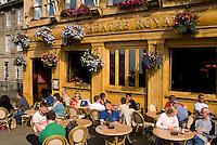 Locals at Cafe in Edinburgh, Antigua Street,  Theatre Royal Bar, Scotland