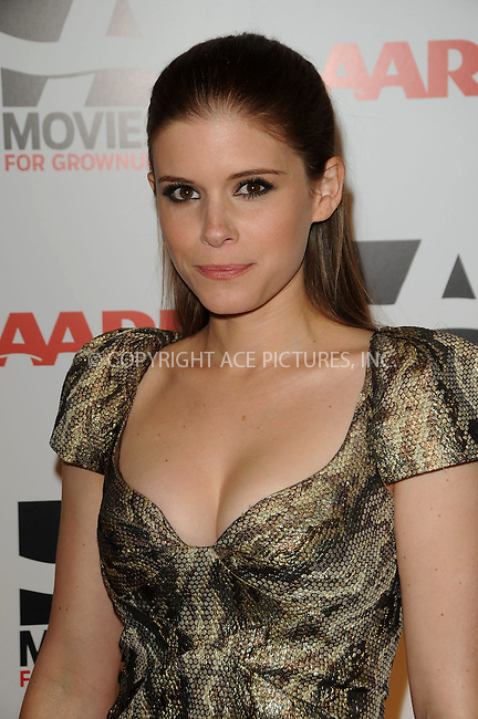 WWW.ACEPIXS.COM . . . . . ....February 7 2011, LA....Actress Kate Mara arriving at the AARP Magazine 10th Annual Movies For Grownups Awards at the Beverly Wilshire Four Seasons Hotel on February 7, 2011 in Beverly Hills, CA....Please byline: PETER WEST - ACEPIXS.COM....Ace Pictures, Inc:  ..(212) 243-8787 or (646) 679 0430..e-mail: picturedesk@acepixs.com..web: http://www.acepixs.com