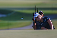 Jeongeun6 Lee (KOR) hits from the trap on 18 during round 4 of the 2019 US Women's Open, Charleston Country Club, Charleston, South Carolina,  USA. 6/2/2019.<br /> Picture: Golffile | Ken Murray<br /> <br /> All photo usage must carry mandatory copyright credit (© Golffile | Ken Murray)