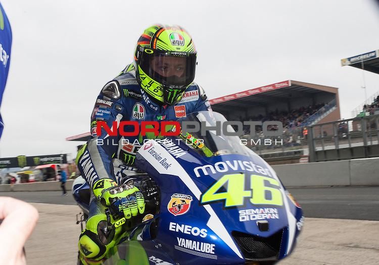 Monster Energy Grand Prix de France in Le Mans 15.-17.05.2015, Free Practice, Qualifying, Box.<br /> <br /> 46 Valentino Rossi / Italien<br /> <br /> Foto &copy; nordphoto / FSA