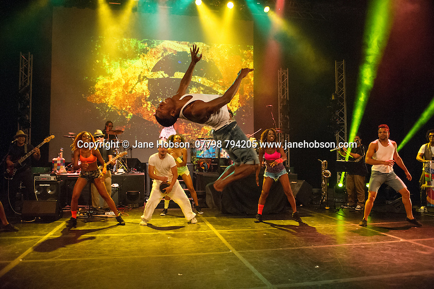 Edinburgh, UK. 02.08.2014. The Pleasance hosts its press launch in its 30th anniversary year on the Fringe. Picture shows: THIS IS BRASIL - THE SHOW. Photograph © Jane Hobson,