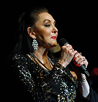 NOV 08 Crystal Gayle Performs at the Veterans Day Concert in Kansas