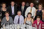 Having a wonderful time at the Abbeydorney GAA Club Social held in The Ballyroe Heights Hotel on Saturday night were seated l/r Margaret Shanahan, Patrick Slattery, Ann Slattery and Kathleen Hayes, standing l/r Mary Fealy, James Fealy, Brendan Shanahan, James & Mary O'Connor.................................................................................................................................................................................................................................................................................. ............