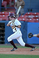 Central Michigan Chippewas William Arnold #4 during a game vs. the Pittsburgh Panthers at Chain of Lakes Park in Winter Haven, Florida;  March 11, 2011.  Pittsburgh defeated Central Michigan 19-2.  Photo By Mike Janes/Four Seam Images