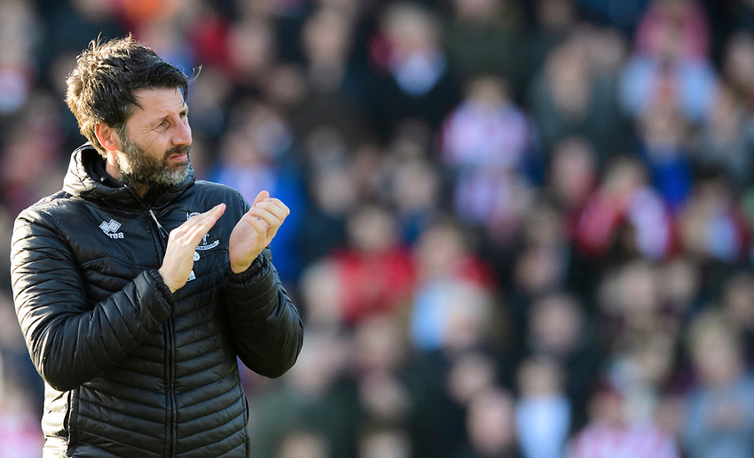 Lincoln City manager Danny Cowley<br /> <br /> Photographer Chris Vaughan/CameraSport<br /> <br /> The EFL Sky Bet League Two - Lincoln City v Stevenage - Saturday 16th February 2019 - Sincil Bank - Lincoln<br /> <br /> World Copyright © 2019 CameraSport. All rights reserved. 43 Linden Ave. Countesthorpe. Leicester. England. LE8 5PG - Tel: +44 (0) 116 277 4147 - admin@camerasport.com - www.camerasport.com