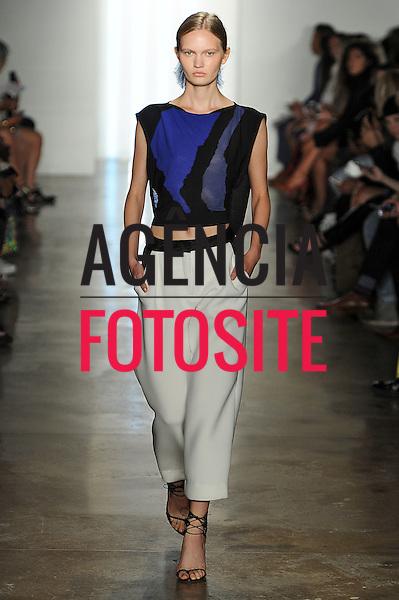 Nova Iorque, EUA &sbquo;09/2014 - Desfile de Ohne Titel durante a Semana de moda de Nova Iorque  -  Verao 2015. <br /> <br /> Foto: FOTOSITE