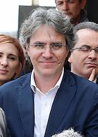 Presentazione dei candidati al consiglio comunale di Napoli del movimento cinque stelle<br /> Francescco Boscotrecase