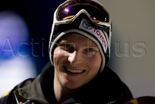 torino feb 4th 2007 - snowboard bigair worl cup - torino - the winner and world cup leader janne korpi from finland. Photo by alberto ramella/Actionplus. UK Licenses Only