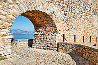 The castle Palamidi of Nafplio, Greece