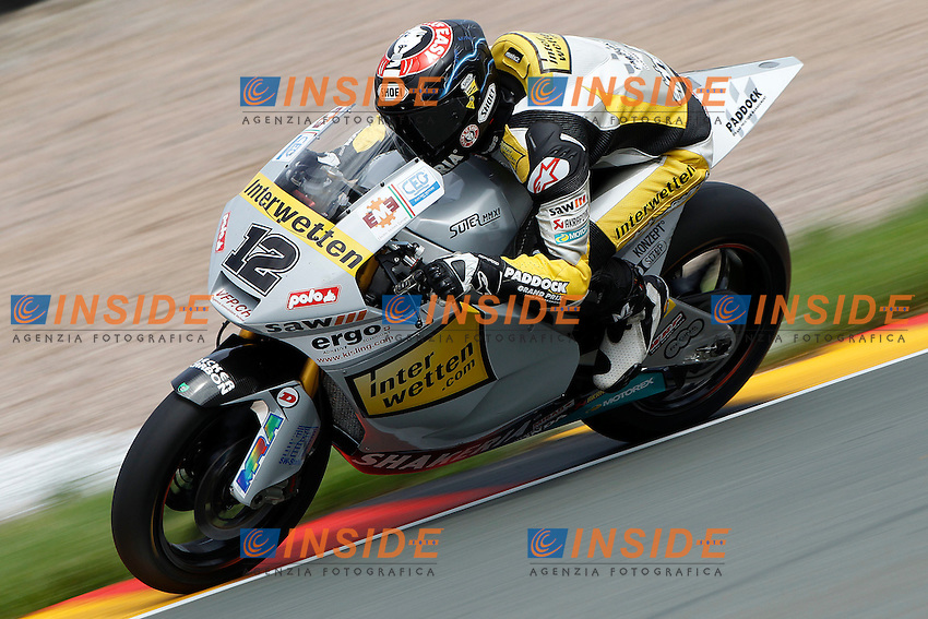 .15-07-2011 Sachsenring (GER).Motogp - Moto2.in the picture: Thomas Luthi - Interwetten team