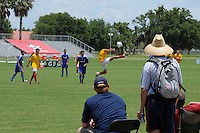 Scouts watch a game during day three of the US Soccer Development Academy  Spring Showcase in Sarasota, FL, on May 24, 2009.