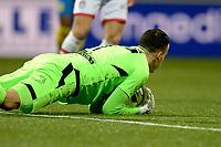 EMMEN - Voetbal, FC Emmen - RKC Waalwijk, De  Oude Meerdijk, Jupiler League, seizoen 2017-2018, 19-01-2018,  RKC Waalwijk doelman Etienne Vaessen