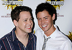 HOLLYWOOD, CA. - August 16: Actor T.R. Knight and Mark Cornelsen arrive at the third annual Hot in Hollywood held at Avalon on August 16, 2008 in Hollywood, California.