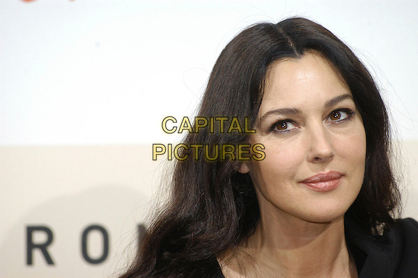 "MONICA BELLUCCI.Photocall for ""Le Deuxieme Souffle"" at the 2nd Rome Film Festival, Rome, Italy..October 18th, 2007.headshot portrait .CAP/CAV.©Luca Cavallari/Capital Pictures."