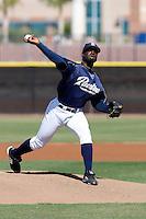 Wynn Pelzer - San Diego Padres - 2009 spring training.Photo by:  Bill Mitchell/Four Seam Images