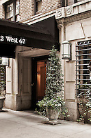 Entrance at 2 West 67th Street