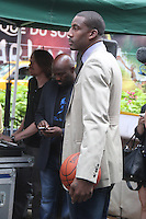 NEW YORK, NY - August 20, 2012: NY Knicks player Amar'e Stoudemire at Good Morning America Studios in New York City. August 20, 2012. © RW/MediaPunch Inc. /NortePhoto.com<br />