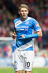St Johnstone v Aberdeen&hellip;07.08.16  McDiarmid Park. SPFL<br />David Wotherspoon<br />Picture by Graeme Hart.<br />Copyright Perthshire Picture Agency<br />Tel: 01738 623350  Mobile: 07990 594431
