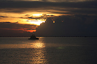 Sunset on Lake Pontchartrain