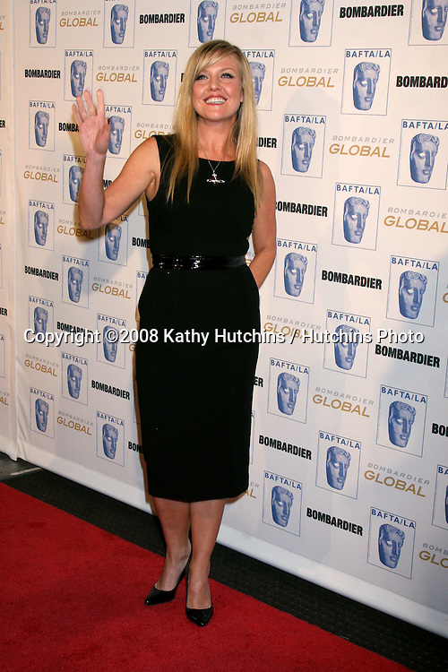 Ashley Jensen arriving at the 17th Annual BAFTA / Britannia Awards at the Century Plaza Hotel, in Century City, CA on .November 6, 2008.©2008 Kathy Hutchins / Hutchins Photo...                . .