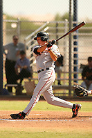 October 13, 2006:  Brett Pill of the San Francisco Giants organization during an Instructional League game at Mariners Training Complex in Phoenix, AZ.  Photo By David Stoner/Four Seam Images