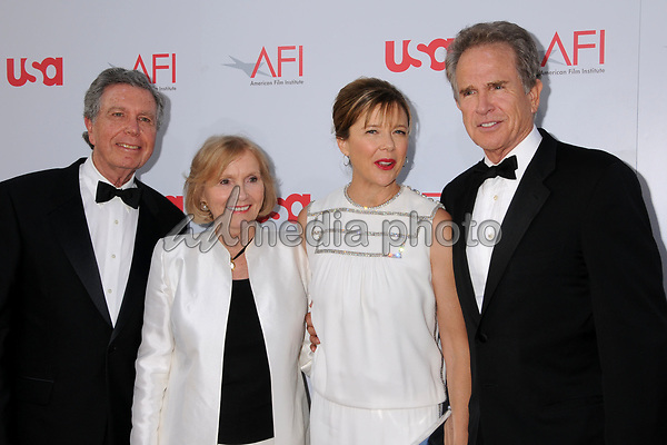 12 June 2008 - Hollywood, California - Jeffrey Hayden, Eva Marie Saint, Annette Bening and Warren Beatty. 36th Annual AFI Life Achievement Award at the Kodak Theatre. Photo Credit: Byron Purvis/AdMedia