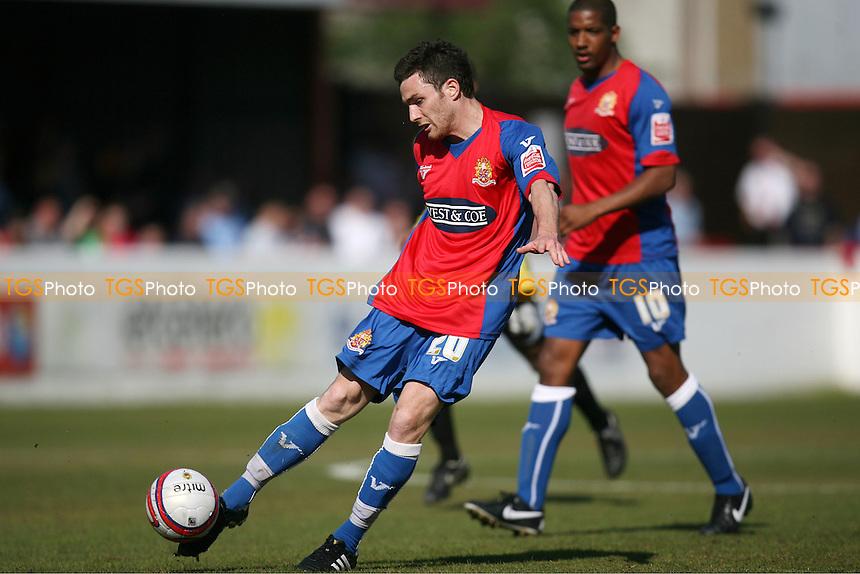 Roain Vincelot of Dagenham scores the Daggers first goal - Dagenham & Redbridge vs Burton Albion 17/04/2010 - MANDATORY CREDIT: Dave Simpson/TGSPHOTO - Self billing applies where appropriate - 0845 094 6026 - contact@tgsphoto.co.uk -NO UNPAID USE