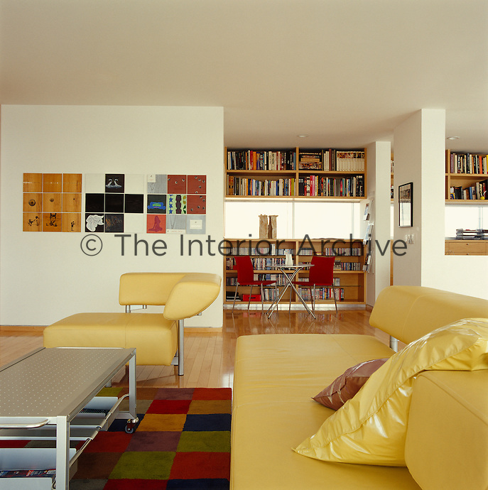 On the mezzanine gallery which leads to the bedrooms there is an intimate sitting area and a built-in study