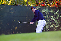 Phil Mickelson (Team USA) on the 5th during the Saturday morning Foursomes at the Ryder Cup, Hazeltine national Golf Club, Chaska, Minnesota, USA.  01/10/2016<br /> Picture: Golffile | Fran Caffrey<br /> <br /> <br /> All photo usage must carry mandatory copyright credit (&copy; Golffile | Fran Caffrey)