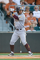 Arizona State Sun Devil third baseman RIccio Torrez #30 at bat against the Texas Longhorns in NCAA Tournament Super Regional Game #3 on June 12, 2011 at Disch Falk Field in Austin, Texas. (Photo by Andrew Woolley / Four Seam Images)