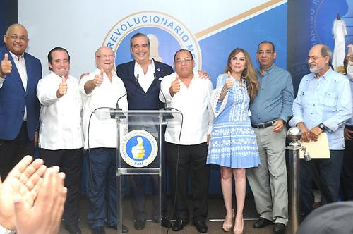 El Partido Revolucionario Moderno (PRM) celebró sus primarias sin inconvenientes.