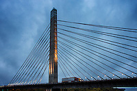 Penobscot Narrows Bridges, Maine, USA