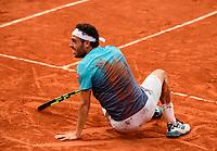 MARCO CECCHINATO (ITA)<br /> <br /> <br /> TENNIS - FRENCH OPEN - ROLAND GARROS - ATP - WTA - ITF - GRAND SLAM - CHAMPIONSHIPS - PARIS - FRANCE - 2018  <br /> <br /> <br /> <br /> &copy; TENNIS PHOTO NETWORK