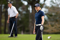 Kristalle Blum, during her first round on Sunday at the NZPWG Women's Pro-Am in Memory of Anita Boon, played at the Remuera Golf Course.
