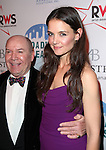 Jack O'Brien & Katie Holmes attending the Broadway Dreams Foundation's 'Champagne & Caroling Gala' at Celsius at Bryant Park, New York on December 10, 2012