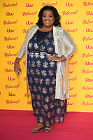 LONDON, UK. October 16, 2018: Alison Hammond arriving for the &quot;ITV Palooza!&quot; at the Royal Festival Hall, London.<br /> Picture: Steve Vas/Featureflash