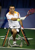 17-11-07, Netherlands, Amsterdam, Wheelchairtennis Masters 2007, Houdet