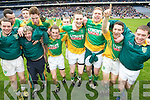 Castlegregory Players Celebrate winning  the All Ireland Junior Club Championship at Croke park on Sunday February 14 2010...