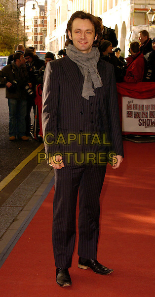 MICHAEL SHEEN.The South Bank Show Awards, Savoy Hotel, London, UK..January 23rd, 2007.full length black pinstripe suit grey gray scarf.CAP/CAN.©Can Nguyen/Capital Pictures