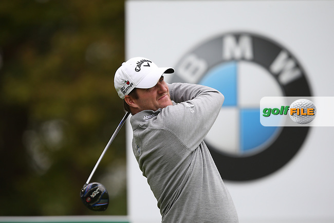 Martin Wiegele (AUT) during Round Two of the 2015 BMW PGA Championship over the West Course at Wentworth, Virginia Water, London. 22/05/2015Picture David Lloyd, www.golffile.ie.