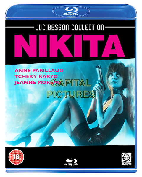 La Femme Nikita (1990) <br /> (Nikita)<br /> BLU RAY COVER ART<br /> *Filmstill - Editorial Use Only*<br /> CAP/KFS<br /> Image supplied by Capital Pictures