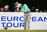 Thomas Aiken (RSA) tees off on the 6th tee during Day 3 of the BMW PGA Championship Championship at, Wentworth Club, Surrey, England, 28th May 2011. (Photo Eoin Clarke/Golffile 2011)