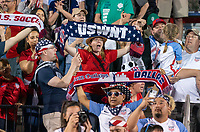 FRISCO, TX - MARCH 11: Fans cheer during a game between Japan and USWNT at Toyota Stadium on March 11, 2020 in Frisco, Texas.