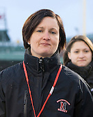 Linda Lundrigan (NU - Co-Head Coach) - The University of New Hampshire Wildcats defeated the Northeastern University Huskies 5-3 (EN) on Friday, January 8, 2010, at Fenway Park in Boston, Massachusetts as part of the Sun Life Frozen Fenway doubleheader.