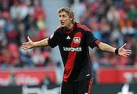 FUSSBALL   1. BUNDESLIGA   SAISON 2011/2012    4. SPIELTAG Bayer 04 Leverkusen - Borussia Dortmund              27.08.2011 Stefan KIESSLING (Bayer 04 Leverkusen)