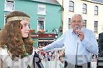 Caoimhe OSullivan (Queen of Puck) in Killorglin.on Friday.