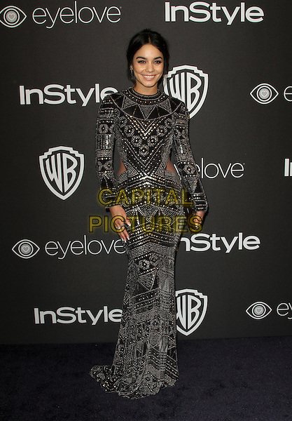8 January 2017 - Los Angeles, California - Vanessa Hudgens. InStyle &amp; Warner Bros. Pictures Golden Globes After Party 2017 held at the Beverly Hilton Hotel. <br /> CAP/ADM<br /> &copy;ADM/Capital Pictures