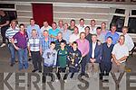 The 1987 Novice Champions celebrating enjoying 25 year last Saturday night in Walsh's Bar, Knocknagoshal.
