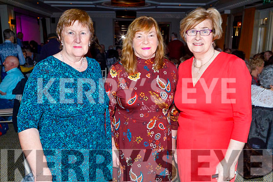 Ready to dance the night away in aid of Recovery Haven in the Ballygarry House Hotel on Monday.<br /> L to r: Joan Crowley, Kathleen Collins and Maureen O'Brien.
