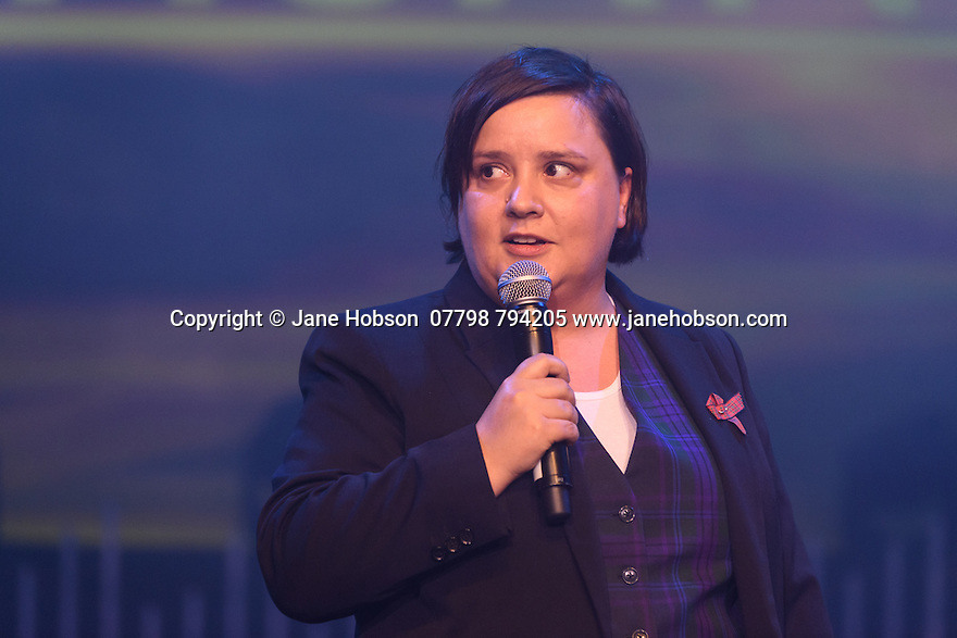 Pleasance launch their Edinburgh Festival Fringe programme to the press. Picture shows: Susan Calman.